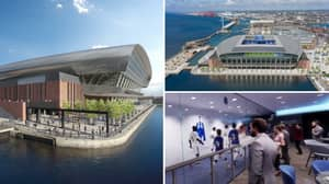 Everton's New 52,888-Capacity, £500 Million 'Waterfront' Stadium Looks Absolutely Incredible In New Video