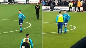 How Granit Xhaka Reacted At The Final Whistle To Arsenal Losing To Bournemouth