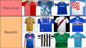 Football Kits Ranked 'Work Of Art' To 'Burn It'