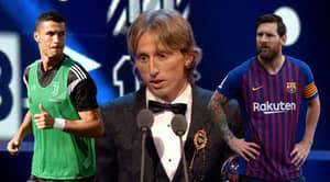 Lionel Messi And Cristiano Ronaldo's Votes For FIFA's Best Men's Player Award