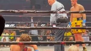 The Ringside View Of Jake Paul's Brutal Knockout On Ben Askren