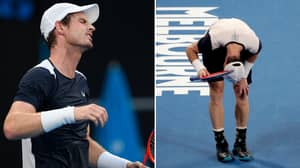 Andy Murray Knocked Out Of The Australian Open In The First Round