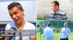 Footage From 2008 Shows What Ronaldo And Rooney Said About Ole Gunnar Solskjaer When He Was A Coach At Man Utd