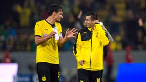 Mats Hummels Is Not Impressed With Henrikh Mkhitaryan Winning Goal Of The Month