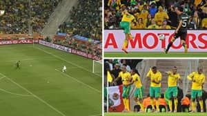 11 Years Ago Today, Siphiwe Tshabalala Opened The World Cup With South Africa Stunner vs Mexico