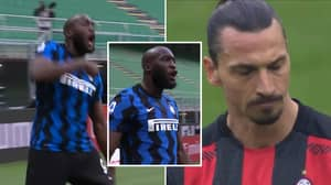 Romelu Lukaku Finally Reacts To 'God' Celebration 'Aimed At Zlatan Ibrahimovic'
