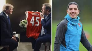 Piers Morgan Invites Donald Trump To Become Arsenal Manager, Hector Bellerin Responds