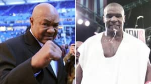 George Foreman Asked Who Would Win In A Fight Out Of Him And Prime Mike Tyson