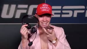 Colby Covington Calls Out 'Woke Athlete LeBron James' Before Ringing Donald Trump on Live TV
