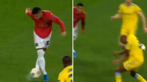 Marcos Rojo Attempts The Worst And Most Pointless Rabona Ever