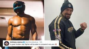Tyson Fury Responds To Anthony Joshua After He Says: 'A Great Modern Day Fighter Can Compete In Any Era'