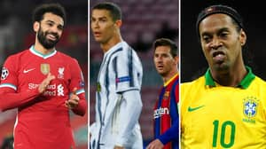 Mo Salah Set To Beat Cristiano Ronaldo, Lionel Messi And Ronaldinho To 'Player Of The Century' Award