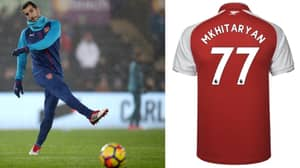 Why Henrikh Mkhitaryan Has Been Given The Number 77 Shirt For Europa League Competition