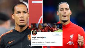 """Shame On You!"" - Virgil Van Dijk Shuts Down Reporter Claiming He's Leading A 'Revolt'"