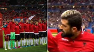 France Vs Albania Kick Off Was Delayed After Wrong National Anthem Was Played