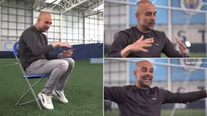 Pep Guardiola Expertly Breaks Down Chelsea's Tactics In Fascinating 37-Second Clip