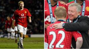 The Premier League Player Sir Alex Ferguson Saw As Paul Scholes' Successor