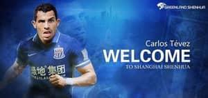 OFFICIAL: Carlos Tevez Signs For Shanghai Shenhua