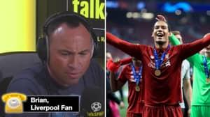 Liverpool Fan Says He'd 'Follow' Virgil Van Dijk And Celebrate Him Scoring Against The Reds