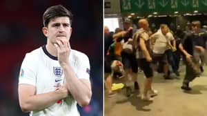 Harry Maguire's Dad Suffers Broken Ribs During Euro 2020 Final Trouble