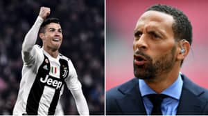 Rio Ferdinand Referred To Cristiano Ronaldo As A 'Football God' Following Hat-Trick Against Atletico Madrid
