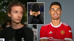 """""""Our Rivals Are Now Brighton"""" - Arsenal Fan's Depressing Answer To Cristiano Ronaldo Question Goes Viral"""