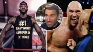 Eddie Hearn Thinks Deontay Wilder Will Fight Tyson Fury Next, Not Luis Ortiz