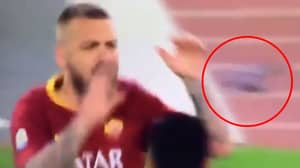 Daniele De Rossi Refuses To Wear Captain's Armband, Throws It Back At Teammate