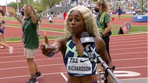 'Talk All The S**t You Want': Sha'Carri Richardson's Bizarre Interview After Finishing Last In Track Return