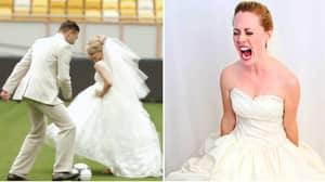 Groom Leaves Marriage Ceremony To Play 7-A-Side Football Game
