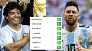 Lionel Messi Vs Diego Maradona: The 29 FIFA 20 Stats That Could Decide Who Is The Better Player