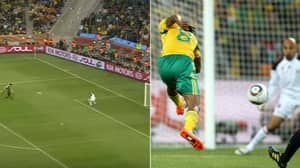 On This Day In 2010, Siphiwe Tshabalala Scored 'A Goal For All Of Africa' In World Cup Opener
