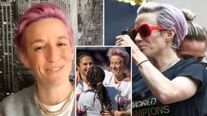 Megan Rapinoe Claims Equal Pay Is On Her Mind When She Pulls On US Shirt