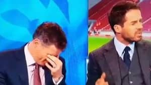 WATCH: Jamie Carragher Goes Fucking Spare After Jamie Redknapp Interrupts Him