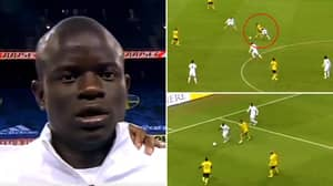 N'Golo Kante's Individual Highlights Vs Sweden Will Get Chelsea Fans Very Excited