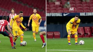 Lionel Messi Highlights Vs Atletico Madrid Show Everything Still Goes Through Him