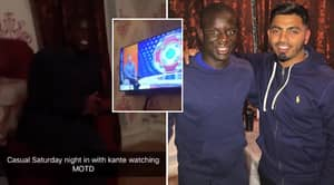 N'Golo Kante Once Accepted Dinner Invite From Fan, They Ate Curry, Watched Match Of The Day And Played FIFA