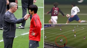 Sir Alex Ferguson's Iconic Pre-Match Chat With Ji-Sung Park Before He Pocketed Andrea Pirlo For 180 Minutes