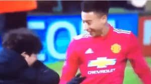 Watch: Jesse Lingard Dabs With A Pitch Invader After Yeovil Win