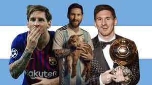 Lionel Messi Voted The Greatest Player In Football History