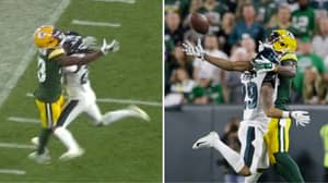 NFL Pass Interference Debate Rumbles On After Controversial Call In Packers Vs Eagles Game