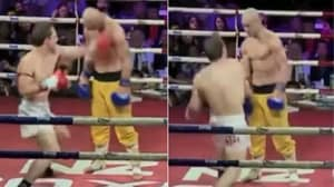 'Shaolin Monk' Takes Hit, After Hit, After Hit, But Refuses To Go Down
