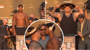 Andy Ruiz Jr And Anthony Joshua Weigh In Ahead Of Rematch