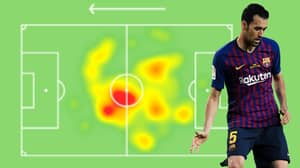 Sergio Busquets Finished Barcelona Vs Spurs With 100% Pass Completion