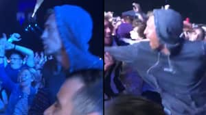 Peter Crouch Spotted In A Mosh Pit At The Isle Of Wight Festival