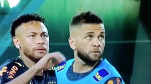 Hilarious Video Of Neymar Flicking Giant Bug Off Dani Alves' Head Goes Viral