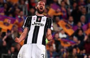 Giorgio Chiellini's Toughest Ever Opponent Is A Man United Star