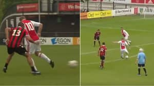 49-Year-Old Dennis Bergkamp Rolls Back The Years With Magical Touch And Strike