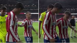 Alvaro Morata Had To Pull Kieran Trippier Away From Walking Over Atletico Madrid's Badge