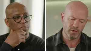 Ian Wright and Alan Shearer Share Powerful Conversation On Racist Abuse